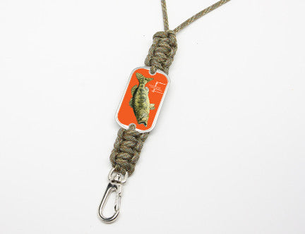 Neck ID Lanyard-Guy Harvey-Largemouth Bass