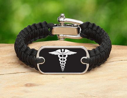 Light Duty Survival Bracelet™ - Doctors Tag