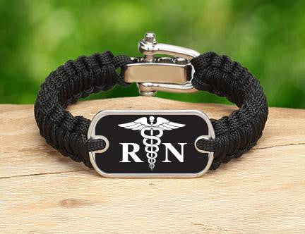 Light Duty Survival Bracelet™ - Registered Nurses Tag