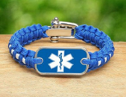 Light Duty Survival Bracelet™ - EMS Tag