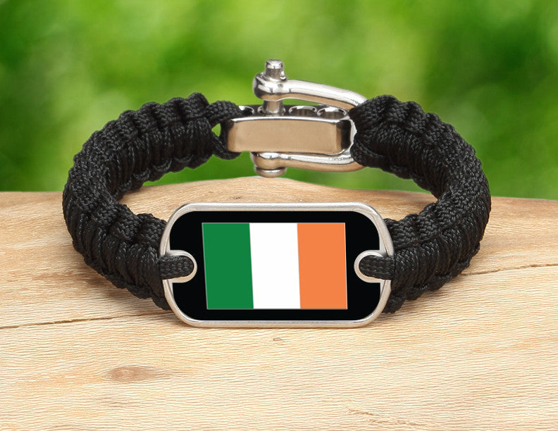 Light Duty Survival Bracelet™ - Irish Flag