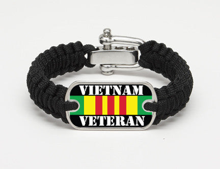 Light Duty Survival Bracelet™- Vietnam Veteran