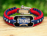 Light Duty Survival Bracelet™ - Las Vegas Strong