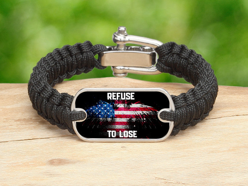 Light Duty Survival Bracelet™ - Refuse to Lose Eagle