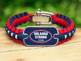 Light Duty Survival Bracelet™ - Orlando Strong Blue