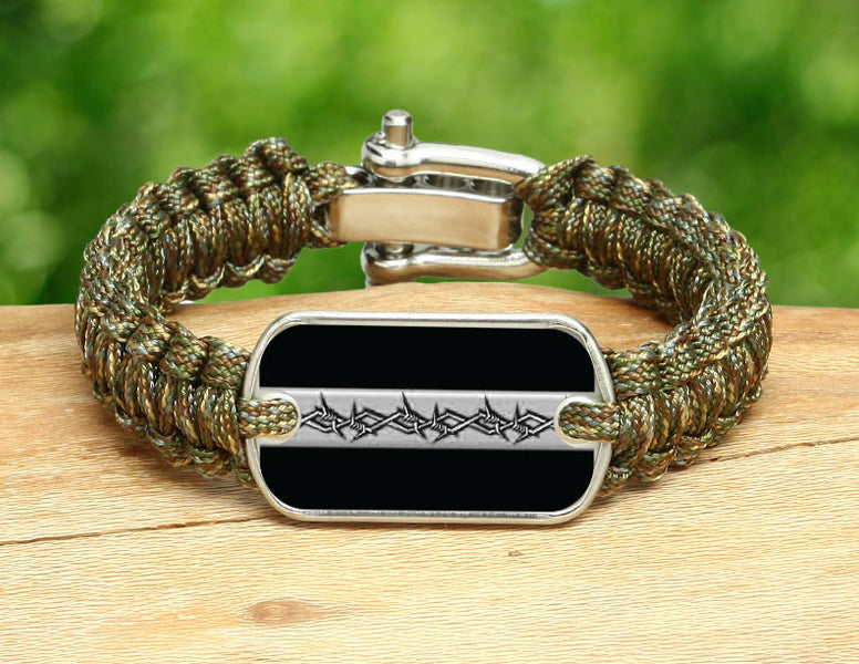 Light Duty Survival Bracelet™ - Corrections Officers Barbed Wire