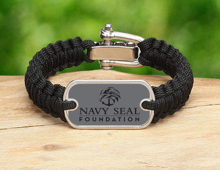 Light Duty Survival Bracelet™- Navy SEAL Foundation - Stealth