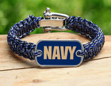 Light Duty Survival Bracelet™ - Officially Licensed - U.S. Naval Academy™ - V2