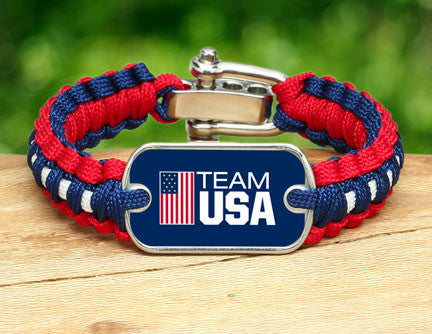 Light Duty Survival Bracelet™ - Team USA