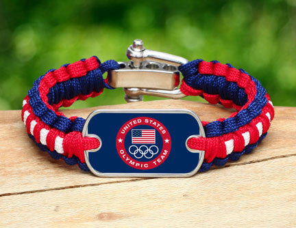 Light Duty Survival Bracelet™ - US Olympic Team (Blue)