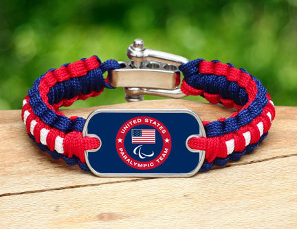 Light Duty Survival Bracelet™ - US Paralympic Team (Blue)