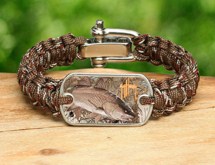 Light Duty Survival Bracelet™-Guy Harvey-Redfish Camo