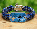 Light Duty Survival Bracelet™-Guy Harvey-Blue Marlin Camo