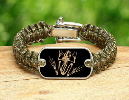 Light Duty Survival Bracelet™- Navy SEAL Foundation - Bone Frog Matches Multicam®