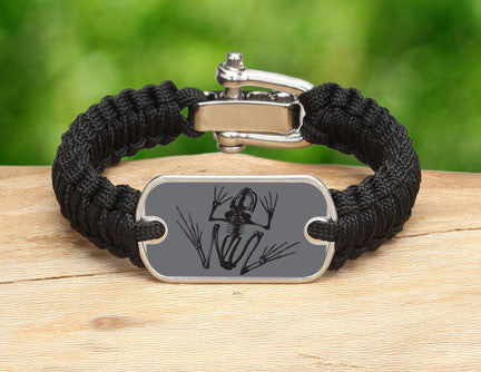Light Duty Survival Bracelet™- Navy SEAL Foundation - Bone Frog Stealth
