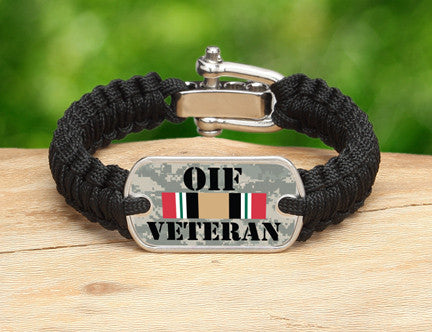 Light Duty Survival Bracelet™- OIF Veteran