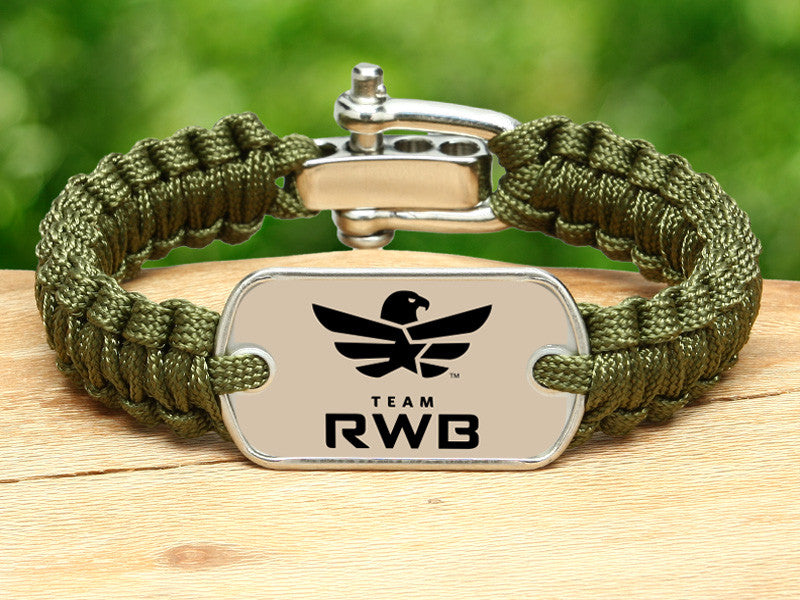 Light Duty Survival Bracelet™ - Team RWB Lt. OD Green
