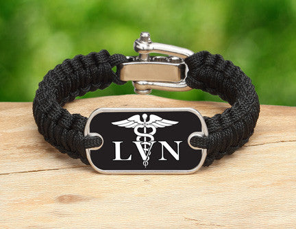 Light Duty Survival Bracelet™ - Licensed Vocational Nurses Tag
