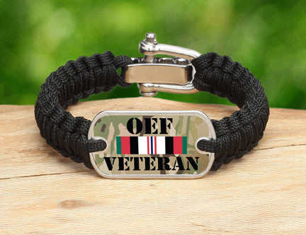 Light Duty Survival Bracelet™- OEF Veteran