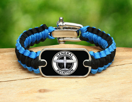 Light Duty Survival Bracelet™ - General Aviation Tag