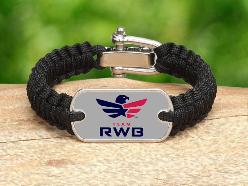 Light Duty Survival Bracelet™ - Team RWB Black