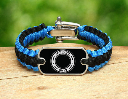 Light Duty Survival Bracelet™ - Jet Fuel Only Tag