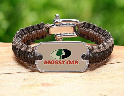 Light Duty Survival Bracelet™ - Mossy Oak® - OD Green and Desert Tan