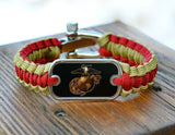 Light Duty Survival Bracelet - Officially Licensed - USMC