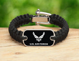 Light Duty Survival Bracelet™ - Officially Licensed - U.S. Air Force V2