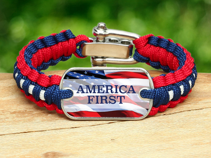 Light Duty Survival Bracelet™ - America First RWB