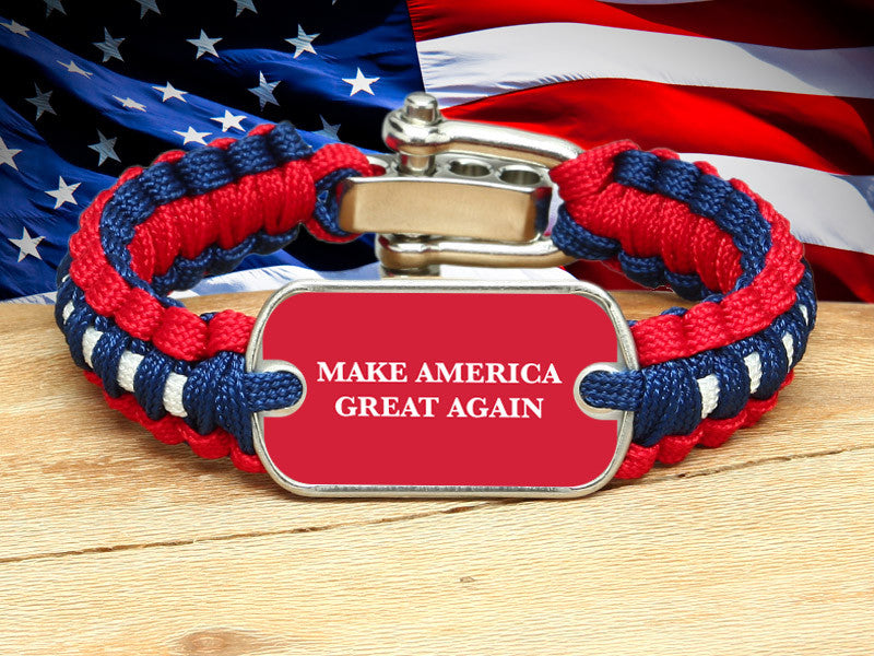 Light Duty Survival Bracelet™ - Make America Great Again