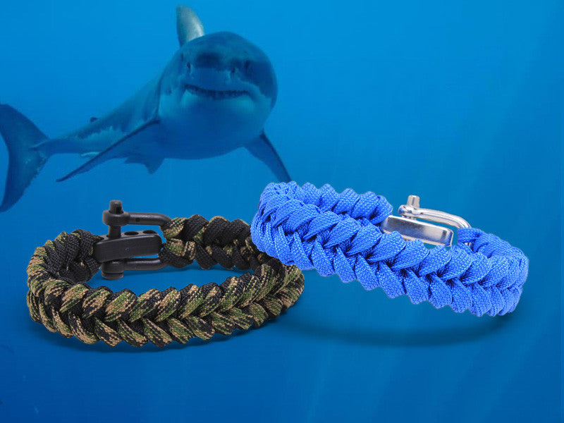 Light Duty Shark Jaw Survival Bracelet™