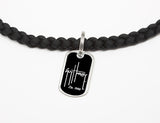 Necklace-Guy Harvey-Logo Black