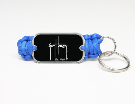 Key Fob-Guy Harvey-Logo Black
