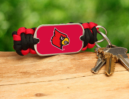 Key Fob - Officially Licensed - Louisville® Cardinals®