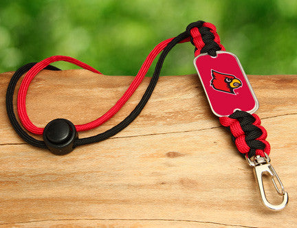 Neck ID Lanyard - Officially Licensed - Louisville® Cardinals®