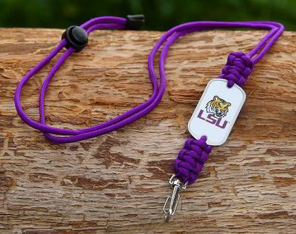 Neck ID Lanyard - Officially Licensed - LSU Tigers™ V2