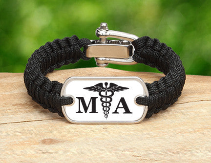 Light Duty Survival Bracelet™ - Medical Assistant Tag