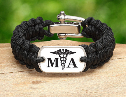 Regular Survival Bracelet™ - Medical Assistant Tag