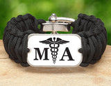 Wide Survival Bracelet™ - Medical Assistant Tag
