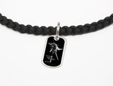 Necklace-Guy Harvey-Marlin Signature-Black