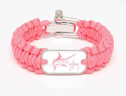 Regular Survival Bracelet™-Guy Harvey-Marlin Signature-Pink