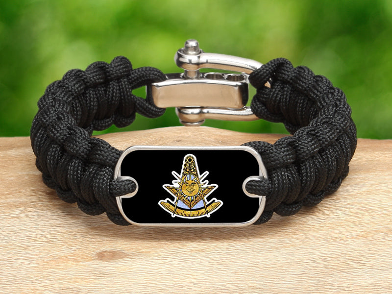Regular Survival Bracelet-Masons Past Masters
