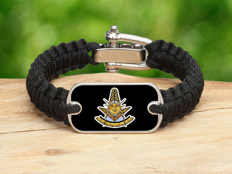Light Duty Survival Bracelet-Masons Past Masters