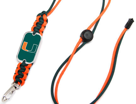 Neck ID Lanyard - Officially Licensed - Miami Hurricanes™