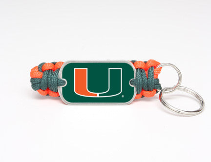 Key Fob - Officially Licensed - Miami Hurricanes™