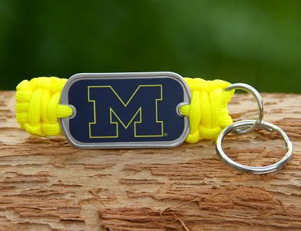 Key Fob - Officially Licensed - Michigan Wolverines™ V2