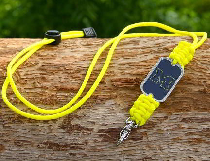 Neck ID Lanyard - Officially Licensed - Michigan Wolverines™ V2