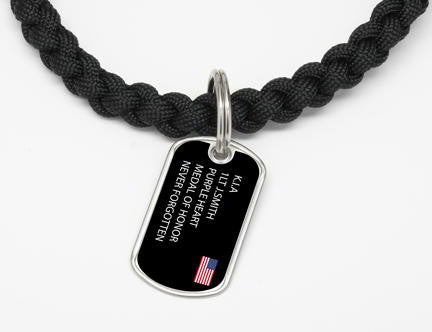 Necklace - Custom Military Hero
