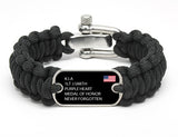 Regular Survival Bracelet™ - Custom Military Hero